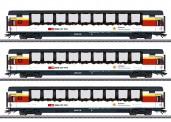 Märklin 43650 SBB Panoramawagen-Set 3-tlg Ep.6