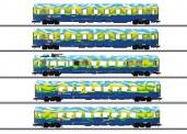 Märklin 43878 DBAG Personenwagen-Set 4-Set. Ep.5