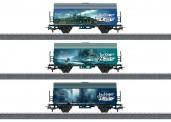 """Märklin 44821 Güterwagen-Set """"Vers. Länder Jim Knopf"""""""