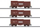 Märklin 46873 SNCB Teleskophaubenwagen-Set 3-tlg Ep.4
