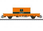 Märklin 46933 Aarsleff Rail Rungenwagen m. Cont Ep.6