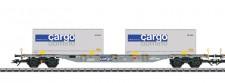 Märklin 47096-02 SBB Cargo Containerwagen Ep.6