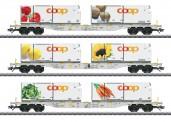 Märklin 47461 AAE Coop Containerwagen-Set 3-tlg. Ep.6