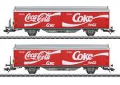 Märklin 48344 SBB Coca Cola Schiebewandwagen-Set Ep.6