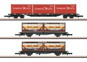 Märklin 82663 DBAG Containertragwagen-Set Ep.5