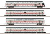 Märklin 87298 DBAG IC2 Doppelstockwagen-Set 4-tlg Ep.6