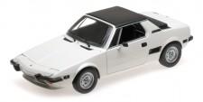 Minichamps 100121665 Fiat X1/9 weiß 1974