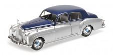 Minichamps 100134902 Rolls Royce Silver Cloud II silber/blau