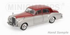Minichamps 100139950 Bentley S2 silber/dunkelrot 1960