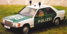Minichamps 155037090 MB 190E (W201) Lim. Polizei 1982
