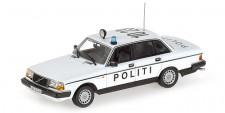 Minichamps 155171495 Volvo 240 GL Lim. Politi DK 1986