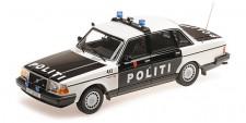 Minichamps 155171496 Volvo 240 GL Lim. Politi Norway 2 1986