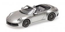 Minichamps 410069330 Porsche 911 Carrera 4S Cab.  2019 silber