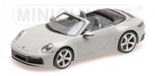 Minichamps 410069331 Porsche 911 Carrera 4S Cab.  2019 grau