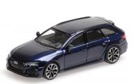 Minichamps 870018211 Audi RS4 Avant blau-met. 2018