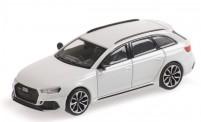 Minichamps 870018214 Audi RS4 Avant weiß-met. (2018)