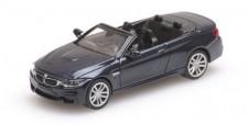 Minichamps 870027230 BMW M4 Cabrio grau 2015