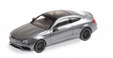 Minichamps 870037022 MB AMG C63 Coupe mattgrau