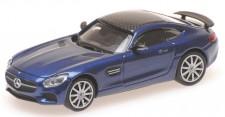 Minichamps 870037124 MB AMG GTS Coupe blau-met. 2015