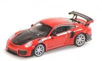 Minichamps 870068121 Porsche 911 GT2 RS (991/2018) rot