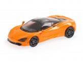 Minichamps 870178721 McLaren 720 S orange (2017)