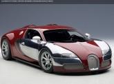 AUTOart 70957 Bugatti Veyron rot Varzi 2009
