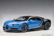 AUTOart 70993 Bugatti Chiron 2017 blau/schwarz