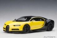 AUTOart 70994 Bugatti Chiron 2017 gelb/schwarz