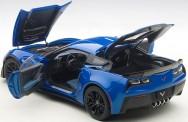 AUTOart 71265 Chevrolet Corvette C7 Z06 blau