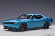 AUTOart 71742 Dodge Challenger R/T SCAT  blau