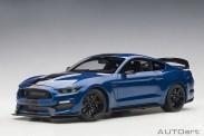 AUTOart 72933 Ford Mustang Shelby GT350R blau