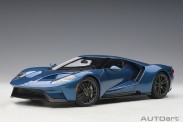 AUTOart 72942 Ford GT 2017 liquid blue