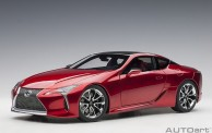 AUTOart 78873 Lexus LC500 metallic red