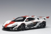 AUTOart 81541 McLaren P1 GTR gloss white/red stripes