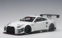 AUTOart 81576 Nissan GT-R Nismo GT3 weiß 2015