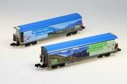 MDS-Modell 61009 RhB Schiebewandwagen-Set 2-tlg Ep.5