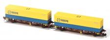 MFTrain 33345 RENFE Containerwagen-Set 2-tlg Ep.6