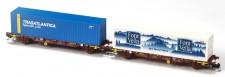 MFTrain 33347 RENFE Containerwagen-Set 2-tlg Ep.6