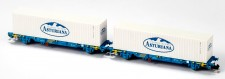 MFTrain 33350 RENFE Containerwagen-Set 2-tlg Ep.6