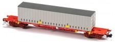 MFTrain 33409 Takargo Rail Containertragwagen Ep.6