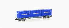 MFTrain 33444 SBB / Hupac Containerwagen 4-achs Ep.6