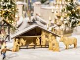 Noch 14394 Weihnachtsmarkt-Krippe mit Figuren