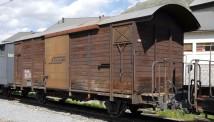 Bemo 2250154 RhB gedeckter Güterwagen 2-achs Ep.5