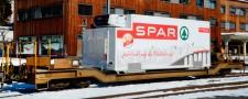 Bemo 2289118 RhB Containerwagen 4-achs Ep.6