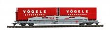 Bemo 2290124 RhB Sl 7754 Transportwagen für Mulden