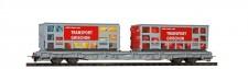 Bemo 2291120 RhB Tragwagen R-w m. Abfallmulden Ep.6