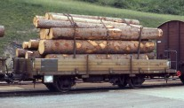 Bemo 9463110 RhB Niederbordwagen