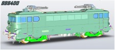 LS Models 10210 SNCF E-Lok Serie BB 9400 Ep.3
