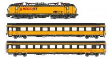 LS Models 18500S RegioJet ELL Personenzug 3-tlg. Ep.6