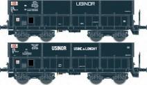 LS Models 31112 SNCF USINOR Erzwagen DM 2-tlg. Ep.4